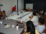 09 Mi papá enseñando a los equipos administativo y ministerial