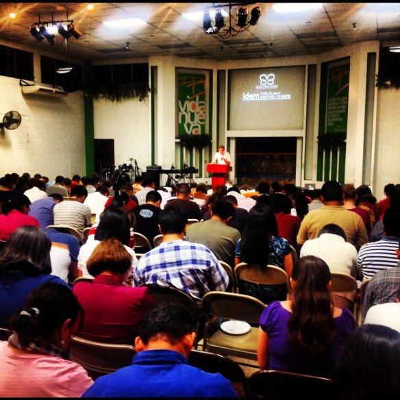 Chity concluyendo la primera reunión de IDEM, Septiembre 15-2012