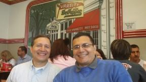 En Atlanta, con Eduardo (mi hermano mayor!)