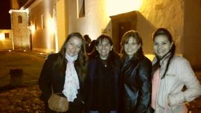 Una noche en Villa de Leyva