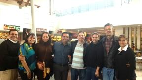 La delegación salvadoreña y los Garrido!